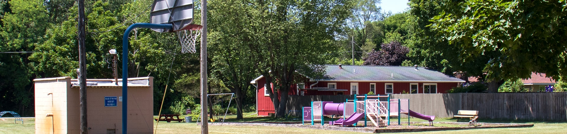 Village of Paw Paw banner area slide image -