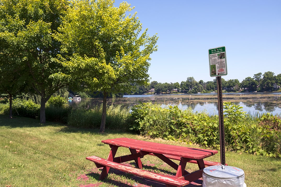 Click here to view a full size picture of Hazen Street Park, Paw Paw, Michigan.