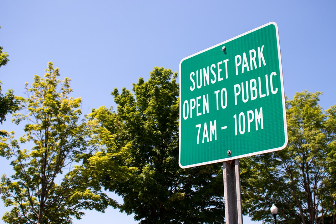 Click here to view a full size picture of Sunset Park, Paw Paw, Michigan.